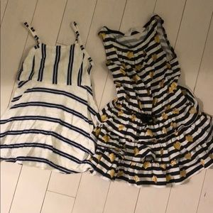 2 casuals toddler dresses